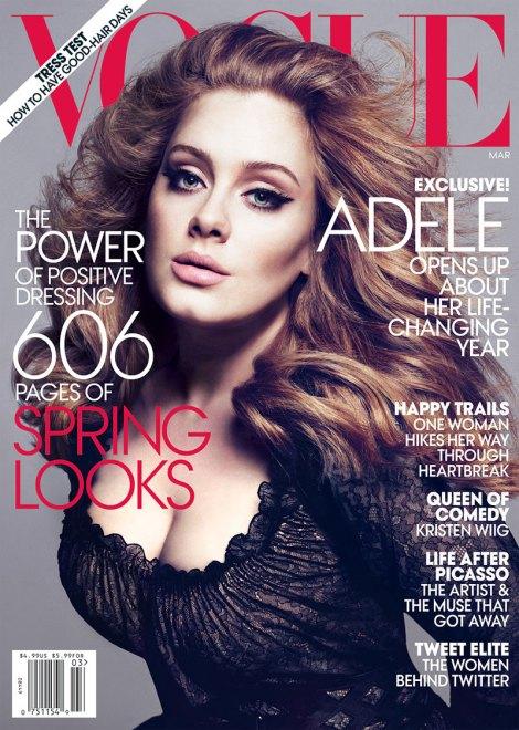 adele vogue 1 Adele na Vogue US!